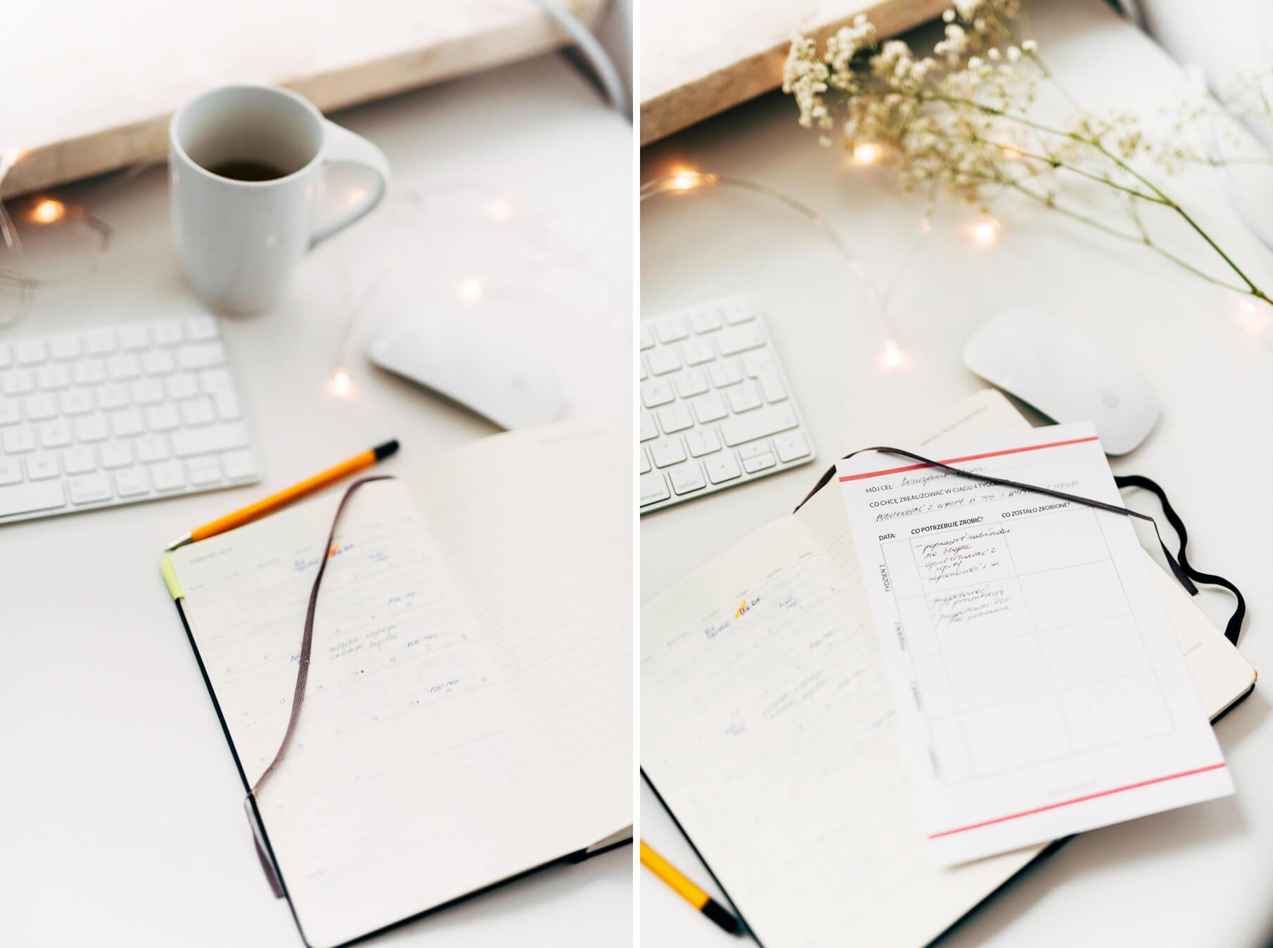 jak zaplanować miesiąc, aby zrealizować swoje cele - arkusz pdf do pobrania