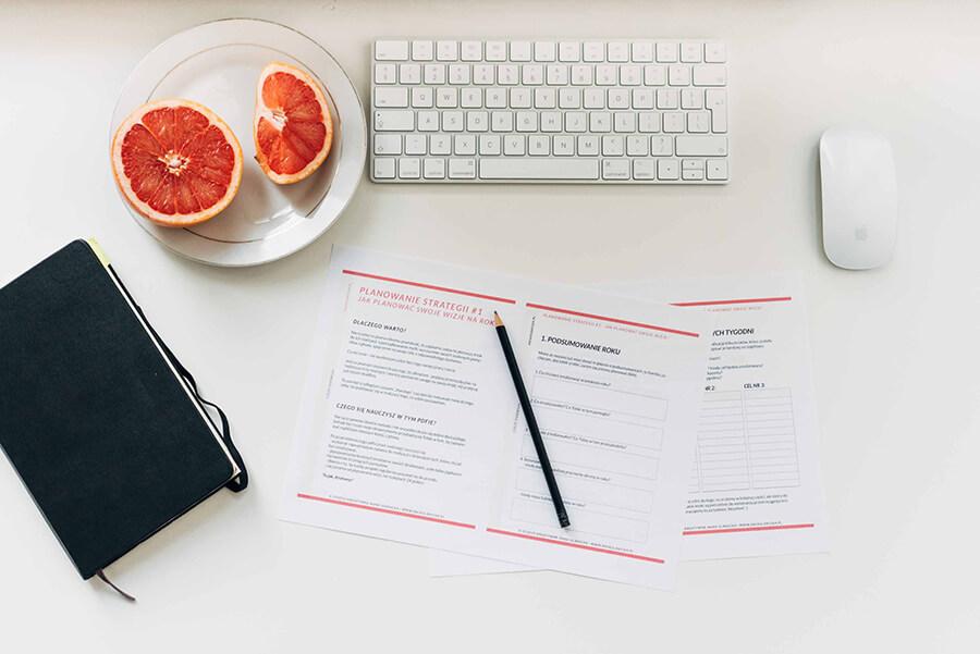 darmowy pdf do pobrania - jak zaplanować rok i osiągać swoje cele