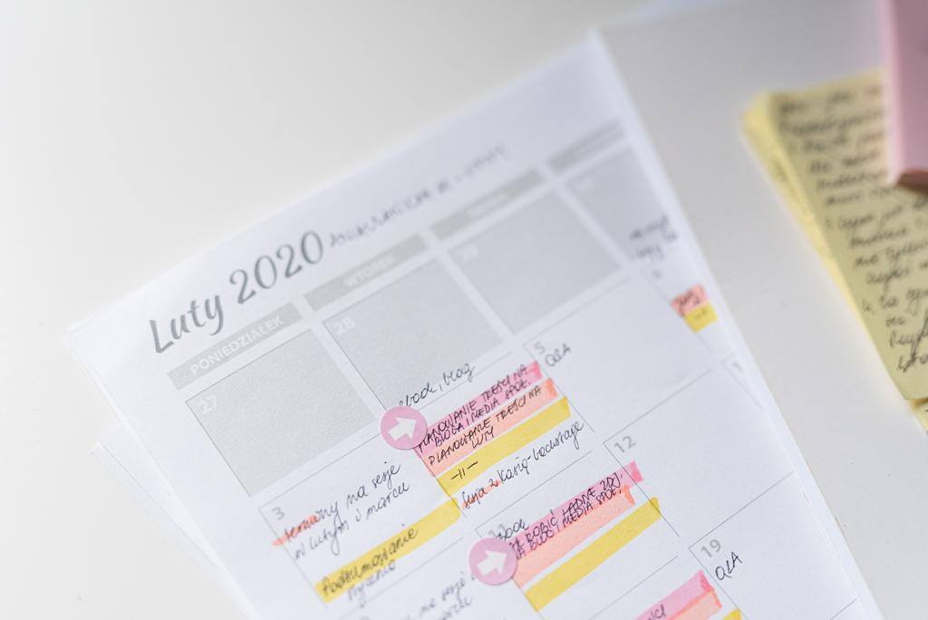 Jak planować publikacja na bloga i media społecznościowe - kalendarz publikacji