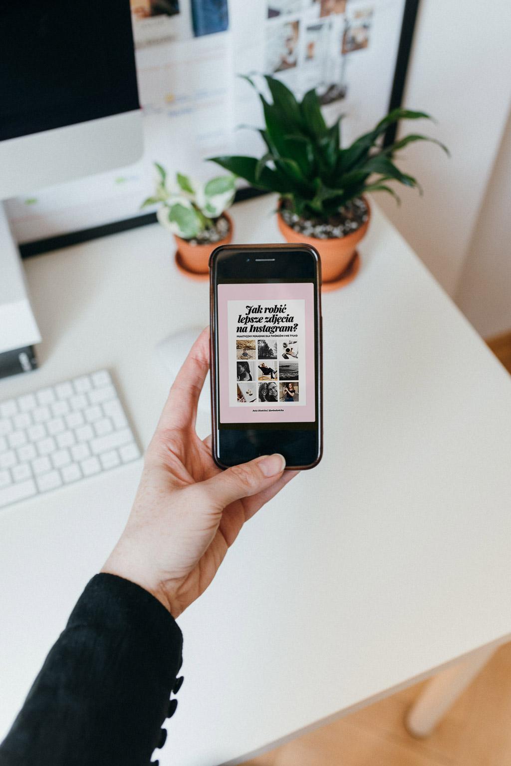 Jak robić lepsze zdjęcia na Instagram? Organizowanie sesji zdjęciowej w domu.